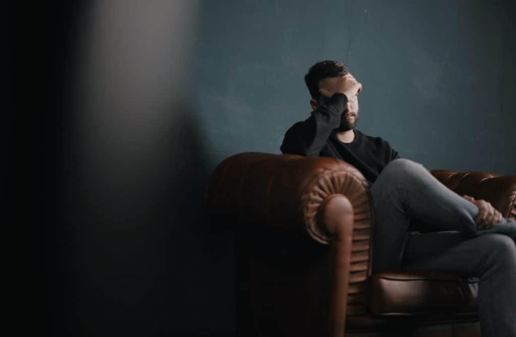 depressed guy needs treatment